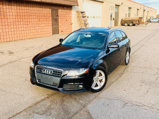 Used 2010 Audi A4 2.0T PREMIUM for sale in Burlington, ON
