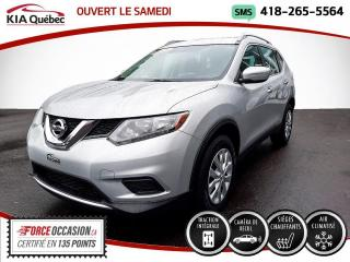 Used 2015 Nissan Rogue S* AWD* SIEGES CHAUFFANTS* CAMERA* for sale in Québec, QC