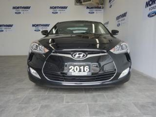 Used 2016 Hyundai Veloster TECH PKG | LEATHERETTE | NAV | ROOF | ONLY 24 KM! for sale in Brantford, ON