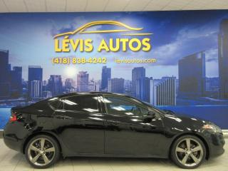 Used 2015 Dodge Dart GT 2.4 LITRES 6 VITESSE MANUEL CUIR CHAU for sale in Lévis, QC