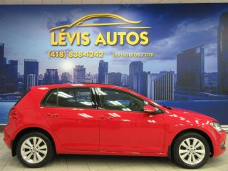 Used 2015 Volkswagen Golf 1.8 TSI COMFORTLINE CUIR CHAUFFANT TOIT for sale in Lévis, QC