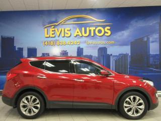 Used 2014 Hyundai Santa Fe Sport 2.0 LITRES TURBO AWD CUIR CHAUFFANT TOIT for sale in Lévis, QC