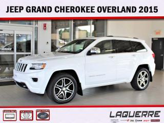 Used 2015 Jeep Grand Cherokee Overland for sale in Victoriaville, QC