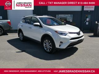 Used 2016 Toyota RAV4 LIMITED  for sale in Kingston, ON