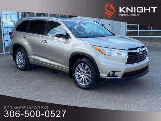 Used 2014 Toyota Highlander XLE for sale in Moose Jaw, SK