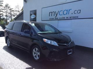 Used 2019 Toyota Sienna LE 8-Passenger PWR SLIDING DOORS, HEATED SEATS, BACKUP CAM!! for sale in Richmond, ON