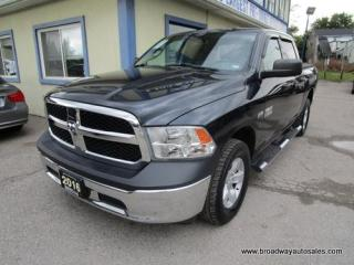Used 2016 Dodge Ram 1500 LIKE NEW TRADESMEN EDITION 6 PASSENGER 5.7L - HEMI.. 4X4.. CREW-CAB.. SHORTY.. AUX/USB INPUT.. TOW SUPPORT.. TRAILER BRAKE.. KEYLESS ENTRY.. for sale in Bradford, ON