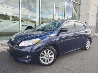 Used 2010 Toyota Matrix Hatchback manuelle 4 portes à traction for sale in Ste-Agathe-des-Monts, QC