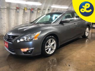 Used 2015 Nissan Altima SV * Navigation * Sunroof * Remote start * Back-Up Camera/Blind Spot Sensor/Rear Collision Warning * Heated front seats * Heated mirrors * Nissan conn for sale in Cambridge, ON