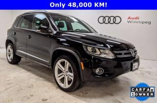 Used 2016 Volkswagen Tiguan R-Line w/Leather & Sunroof *Low KM-Local* for sale in Winnipeg, MB