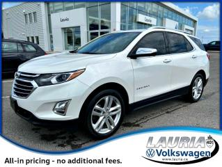 Used 2018 Chevrolet Equinox Premier AWD for sale in PORT HOPE, ON