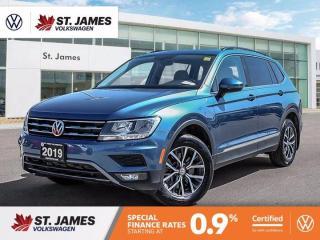 Used 2019 Volkswagen Tiguan Comfortline, Push to Start, Backup Camera, Apple Car Play for sale in Winnipeg, MB