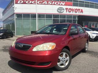 Used 2005 Toyota Corolla **AUTO/AIR** WOW 60 004 KM* for sale in St-Eustache, QC