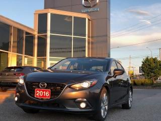 Used 2016 Mazda MAZDA3 GT AUTO WITH 2 SETS OF TIRES for sale in Ottawa, ON