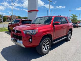 Used 2017 Toyota 4Runner SR5 TRD OFF ROAD+PLATINUM WARRANTY! for sale in Cobourg, ON