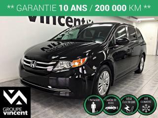 Used 2016 Honda Odyssey LX ** GARANTIE 10 ANS ** L'Odyssée : une minifourgonnette économique, spacieuse, technologique, design et élégante! for sale in Shawinigan, QC
