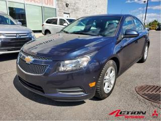 Used 2014 Chevrolet Cruze CAMERA/BLUETOOTH/PRISE USB/AUX for sale in St-Hubert, QC