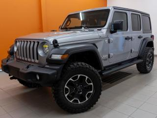 Used 2018 Jeep Wrangler SPORT 4X4 BLUETOOTH PNEUS OFF ROAD *CAMÉRA RECUL* for sale in Mirabel, QC