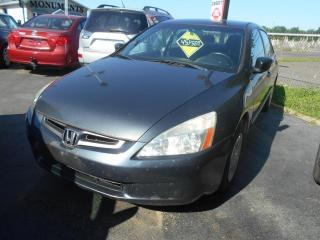 Used 2005 Honda Accord 4 portes DX, boîte automatique for sale in Sorel-Tracy, QC