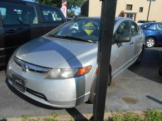 Used 2008 Honda Civic 4 portes, boîte automatique, DX-G for sale in Sorel-Tracy, QC
