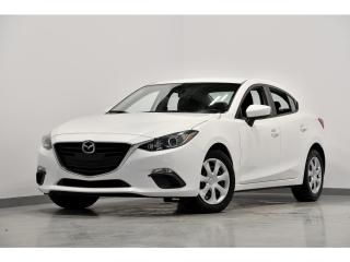 Used 2016 Mazda MAZDA3 MAN CAMERA DE RECUL BLUETOOTH A/C for sale in Brossard, QC