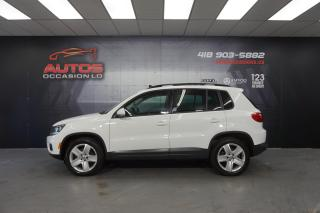 Used 2016 Volkswagen Tiguan COMFORTLINE 4MOTION CUIR TOIT PANO CAMERA 69 800 for sale in Lévis, QC