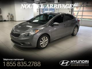 Used 2015 Kia Forte LX + GARANTIE + A/C + CRUISE + BLUETOOTH for sale in Drummondville, QC