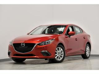 Used 2016 Mazda MAZDA3 Auto GS CAMERA DE RECUL BANC BLUETOOTH for sale in Brossard, QC