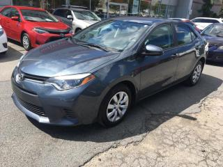 Used 2016 Toyota Corolla **BAS KM** for sale in Longueuil, QC