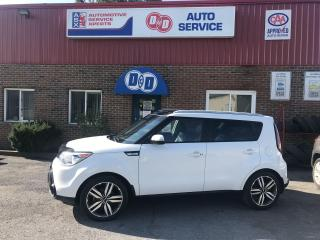 Used 2016 Kia Soul SX Luxury !! ONLY 73K !! $98 Bi Weekly OAC* for sale in Kingston, ON