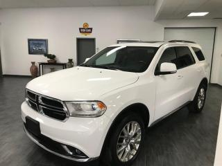 Used 2016 Dodge Durango AWD 4DR LIMITED for sale in Châteauguay, QC