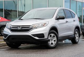 Used 2016 Honda CR-V DEAL PENDING LX FWD BAS KM FWD BLUETOOTH CAM RECUL++ for sale in Lachine, QC
