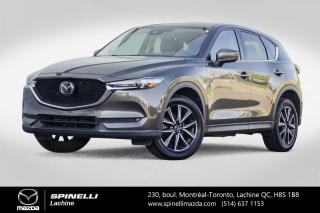 Used 2017 Mazda CX-5 GT AWD GPS Cuir Toit Ouvrant Sieges Chauffants Mazda CX-5 GT Tech 2017 for sale in Lachine, QC