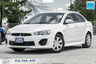 Used 2016 Mitsubishi Lancer ES|Low kms|Heated seats|Cruise for sale in Bolton, ON