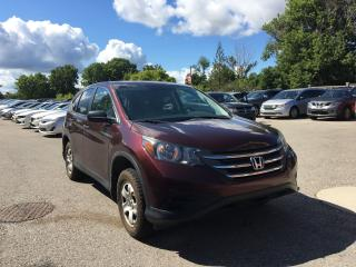 Used 2014 Honda CR-V LX . Rear camera!  Very clean! Excellent condition. for sale in London, ON