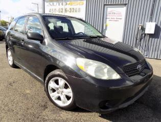 Used 2007 Toyota Matrix ***XR,AUTOMATIQUE,A/C,FIABLE*** for sale in Longueuil, QC