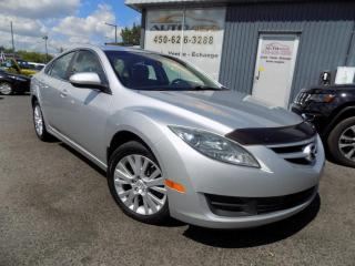 Used 2010 Mazda MAZDA6 ***GS,AUTOMATIQUE,MAGS,A/C*** for sale in Longueuil, QC