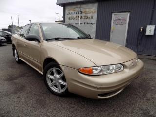 Used 2004 Oldsmobile Alero ***GX,BAS KILOMETRAGE,A/C*** for sale in Longueuil, QC