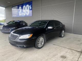 Used 2012 Chrysler 200 LIMITED,CUIR,TOIT,NAVI,BANCS CHAUFFANTS,CRUISE,MAG for sale in Mirabel, QC