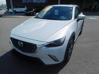 Used 2017 Mazda CX-3 AWD,GT,CUIR ROUGE / NOIR,SUÈDE,TOIT,A/C,BANCS,CAM. for sale in Mirabel, QC