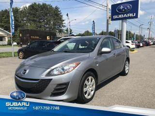 Used 2010 Mazda MAZDA3 **Berline** 4 portes, boîte manuelle, GX for sale in Victoriaville, QC