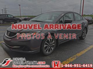 Used 2014 Honda Civic EX 4 portes CVT for sale in Sorel-Tracy, QC