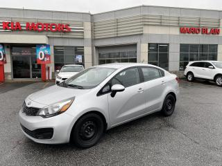 Used 2014 Kia Rio LX+ **SIEGE CHAUFFANT, CRUISE, DEMAREUR DISTANCE** for sale in Mcmasterville, QC