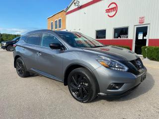 Used 2018 Nissan Murano SL Midnight Edition for sale in Tillsonburg, ON