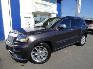 Used 2014 Jeep Grand Cherokee Summit 4x4, Nav, Tech, Pano Roof, Like New Low Kms for sale in Langley, BC