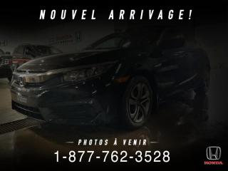 Used 2016 Honda Civic LX + AUTO + A/C + CAMERA + PROPRE + WOW! for sale in St-Basile-le-Grand, QC