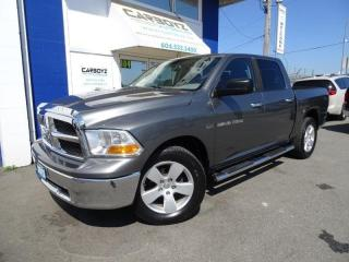 Used 2012 RAM 1500 SLT 4x4, Crew, 5.7L V8, DVD, One Owner, Local for sale in Langley, BC