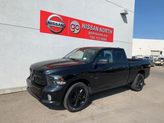 Used 2019 RAM 1500 Classic Express 4x4 Quad Cab 140.0 in. WB for sale in Edmonton, AB