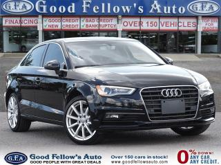 Used 2016 Audi A3 LEATHER & POWER SEATS, PARKING ASSIST, SUNROOF for sale in Toronto, ON