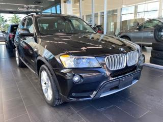 Used 2013 BMW X3 28i AWD, SKYROOF, POWER HEATED LEATHER SEATS, NAVI for sale in Edmonton, AB